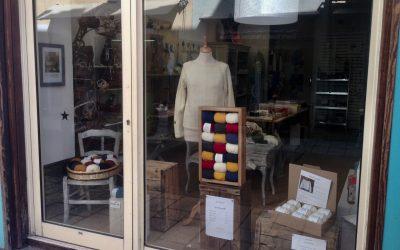 Agneau Nomade en vitrine de la boutique Les Jolies Choses Gap